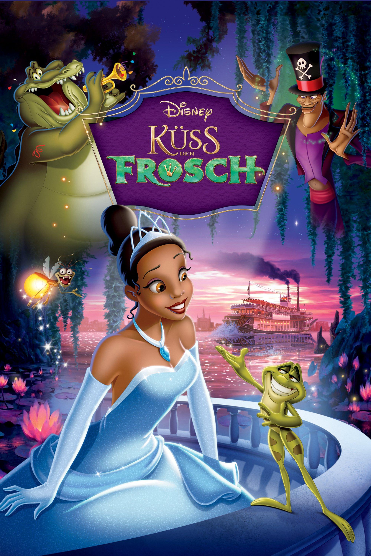 """Plakat von """"Küss den Frosch"""""""