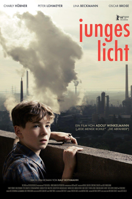 """Plakat von """"Junges Licht"""""""