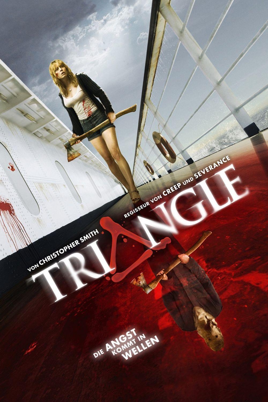"""Plakat von """"Triangle - Die Angst kommt in Wellen"""""""