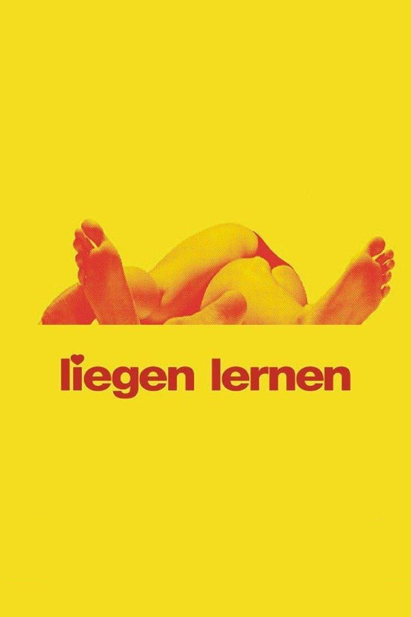 """Plakat von """"Liegen lernen"""""""