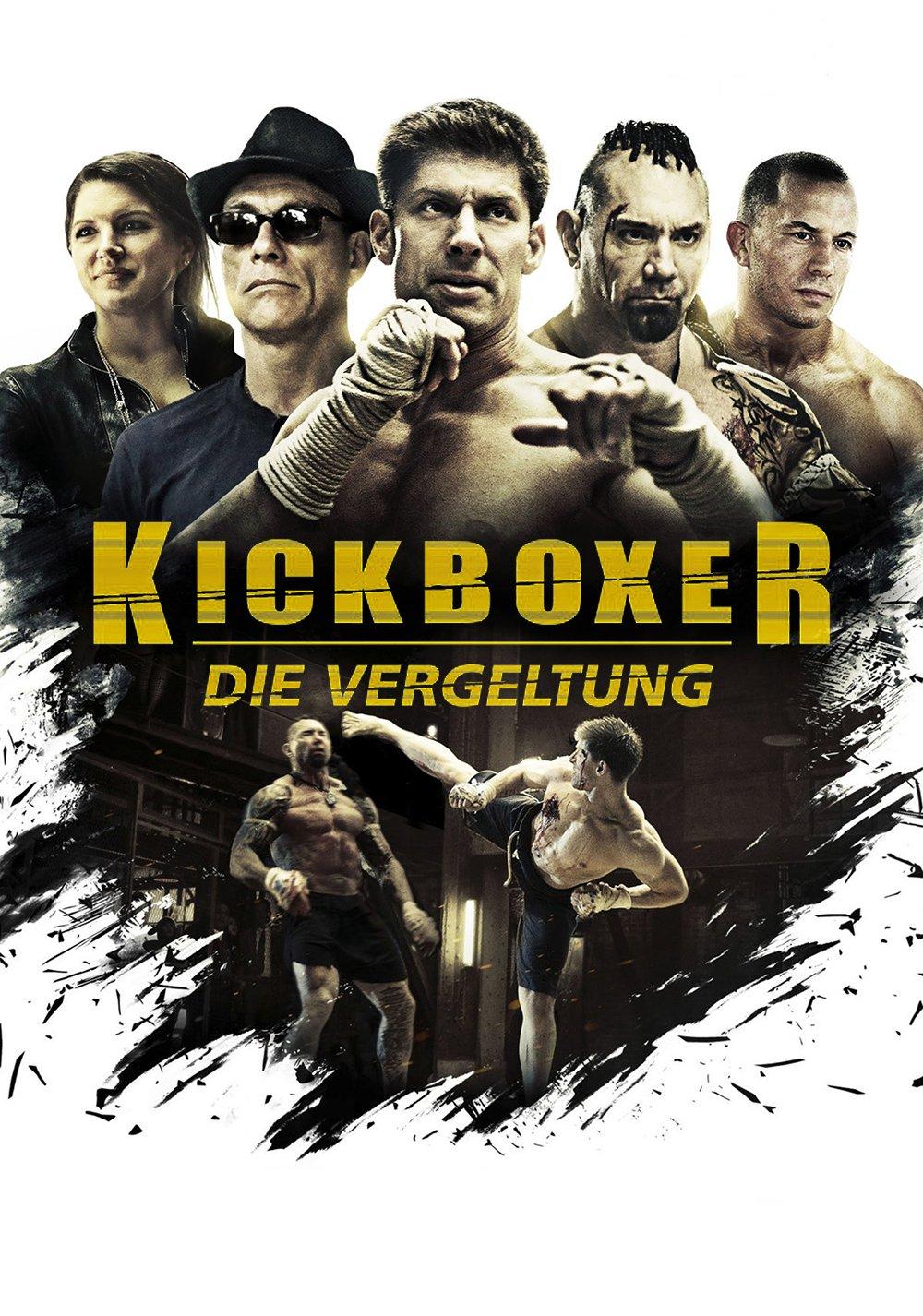 """Plakat von """"Kickboxer - Die Vergeltung"""""""