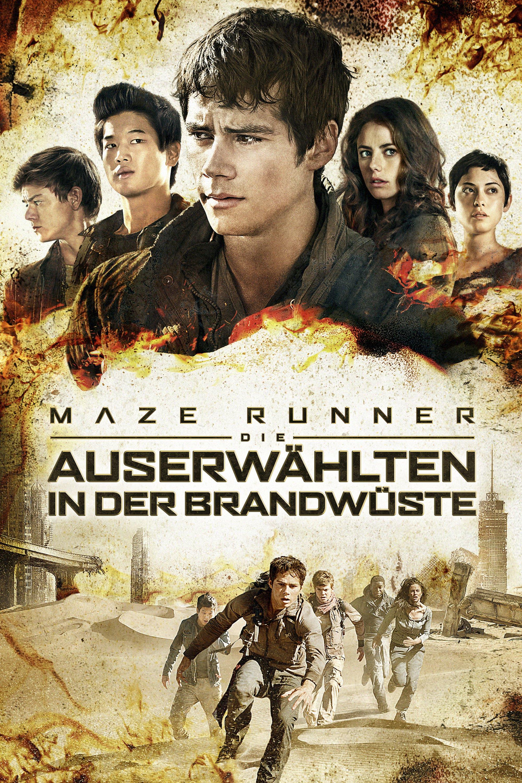 """Plakat von """"Maze Runner - Die Auserwählten in der Brandwüste"""""""