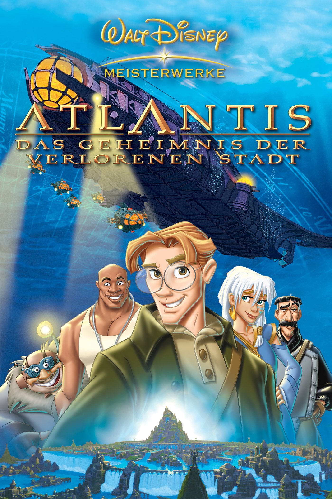 """Plakat von """"Atlantis - Das Geheimnis der verlorenen Stadt"""""""