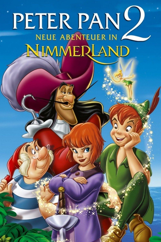 """Plakat von """"Peter Pan: Neue Abenteuer in Nimmerland"""""""