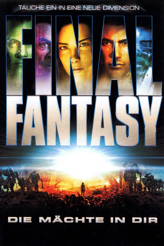 """Plakat von """"Final Fantasy - Die Mächte in dir"""""""