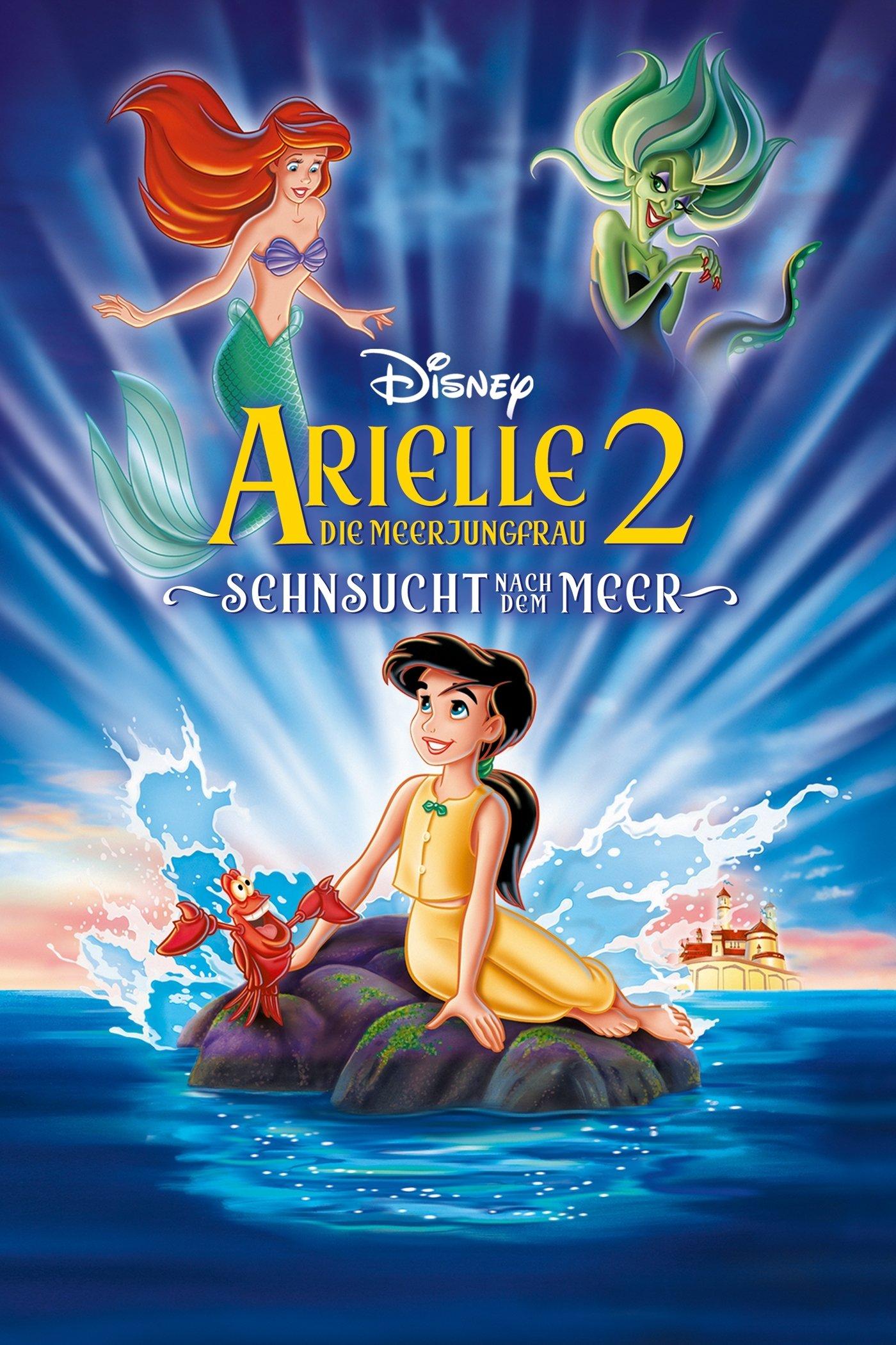 """Plakat von """"Arielle, die Meerjungfrau 2 - Sehnsucht nach dem Meer"""""""
