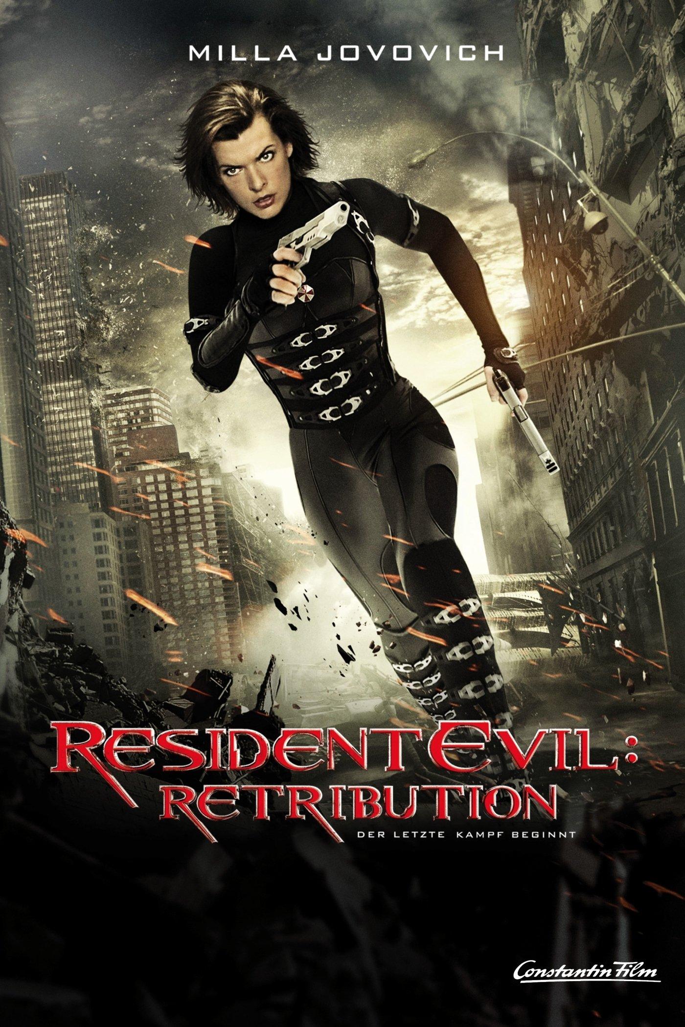 """Plakat von """"Resident Evil: Retribution"""""""