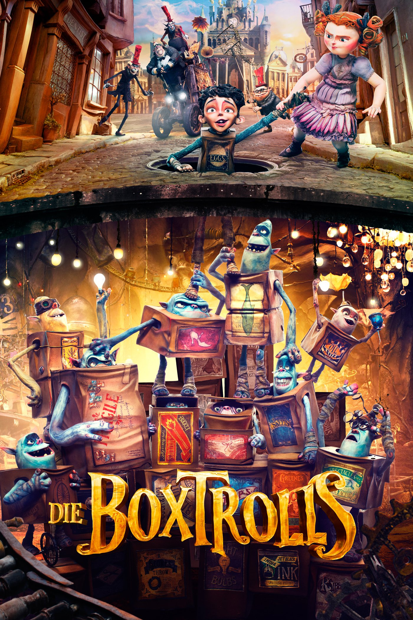 """Plakat von """"Die Boxtrolls"""""""