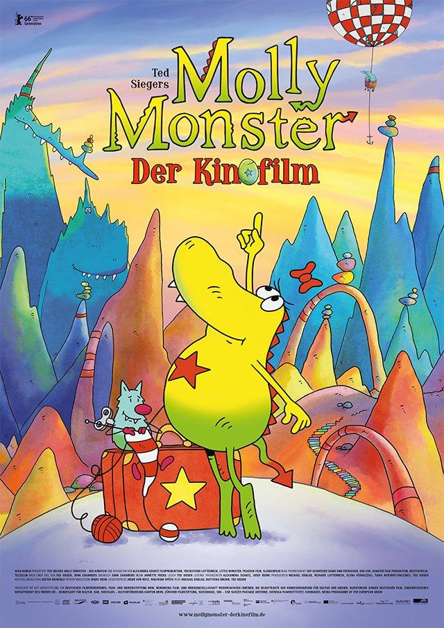 """Plakat von """"Ted Sieger's Molly Monster - Der Kinofilm"""""""