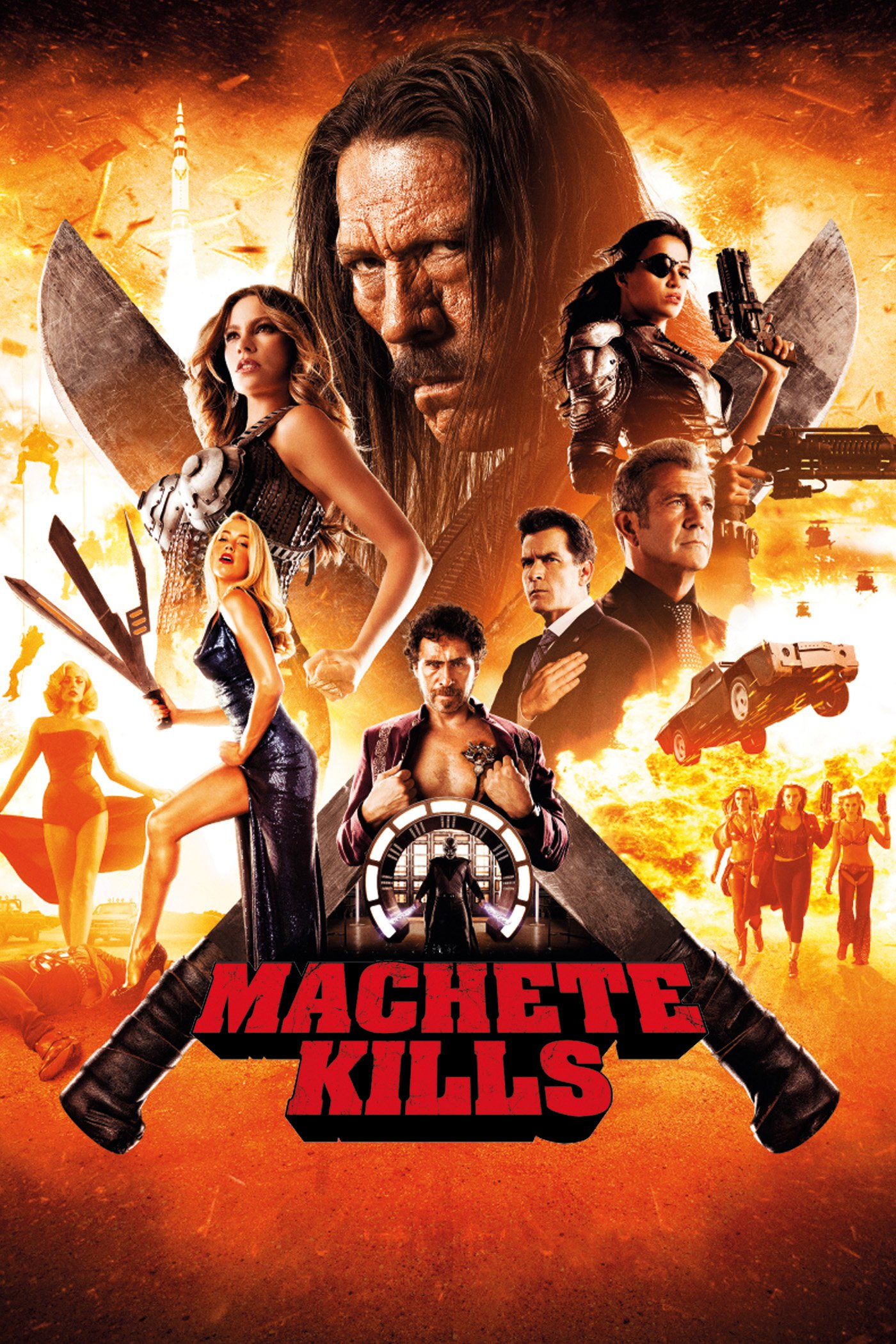 "Plakat von ""Machete Kills"""