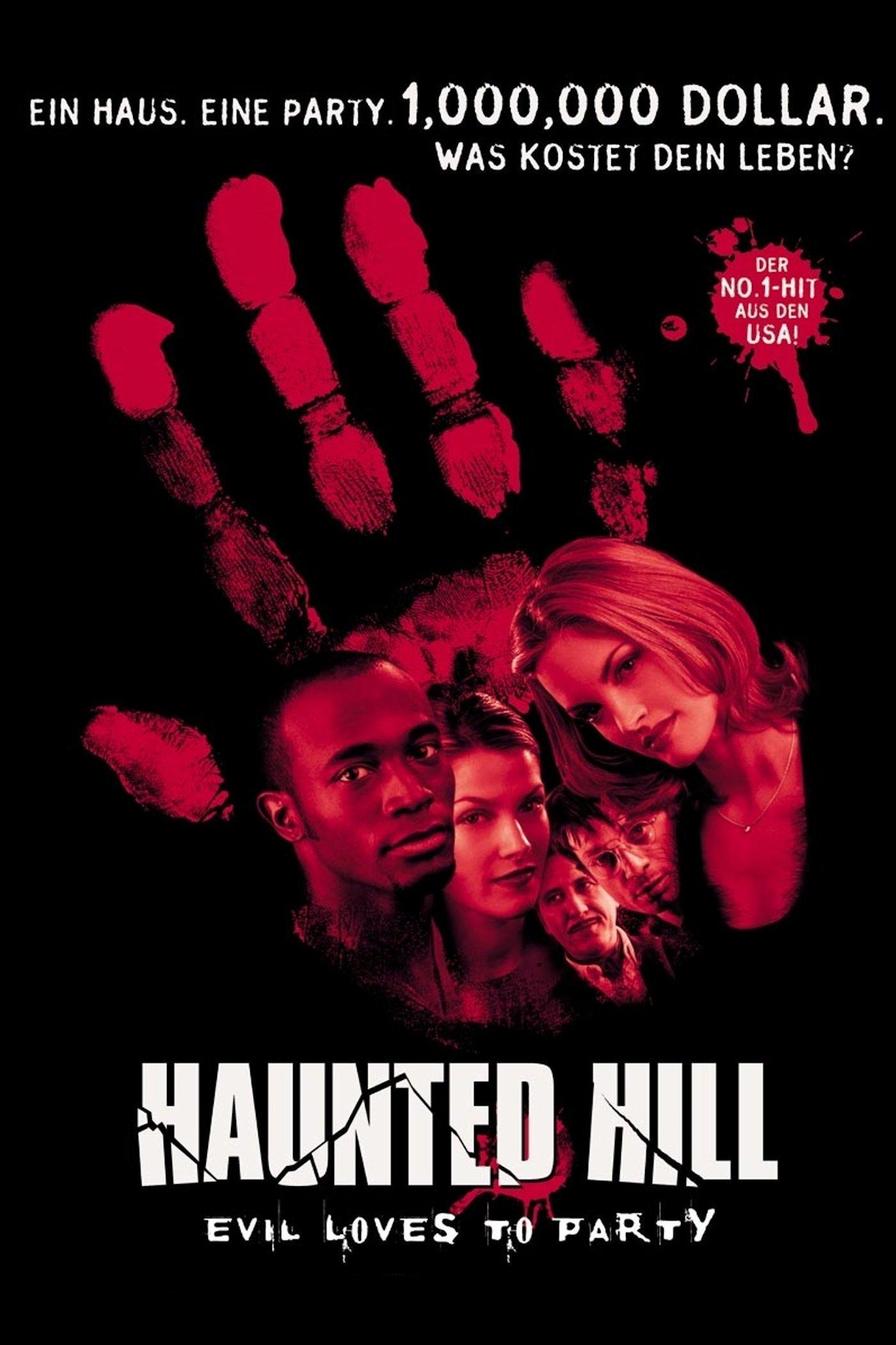 """Plakat von """"Haunted Hill"""""""