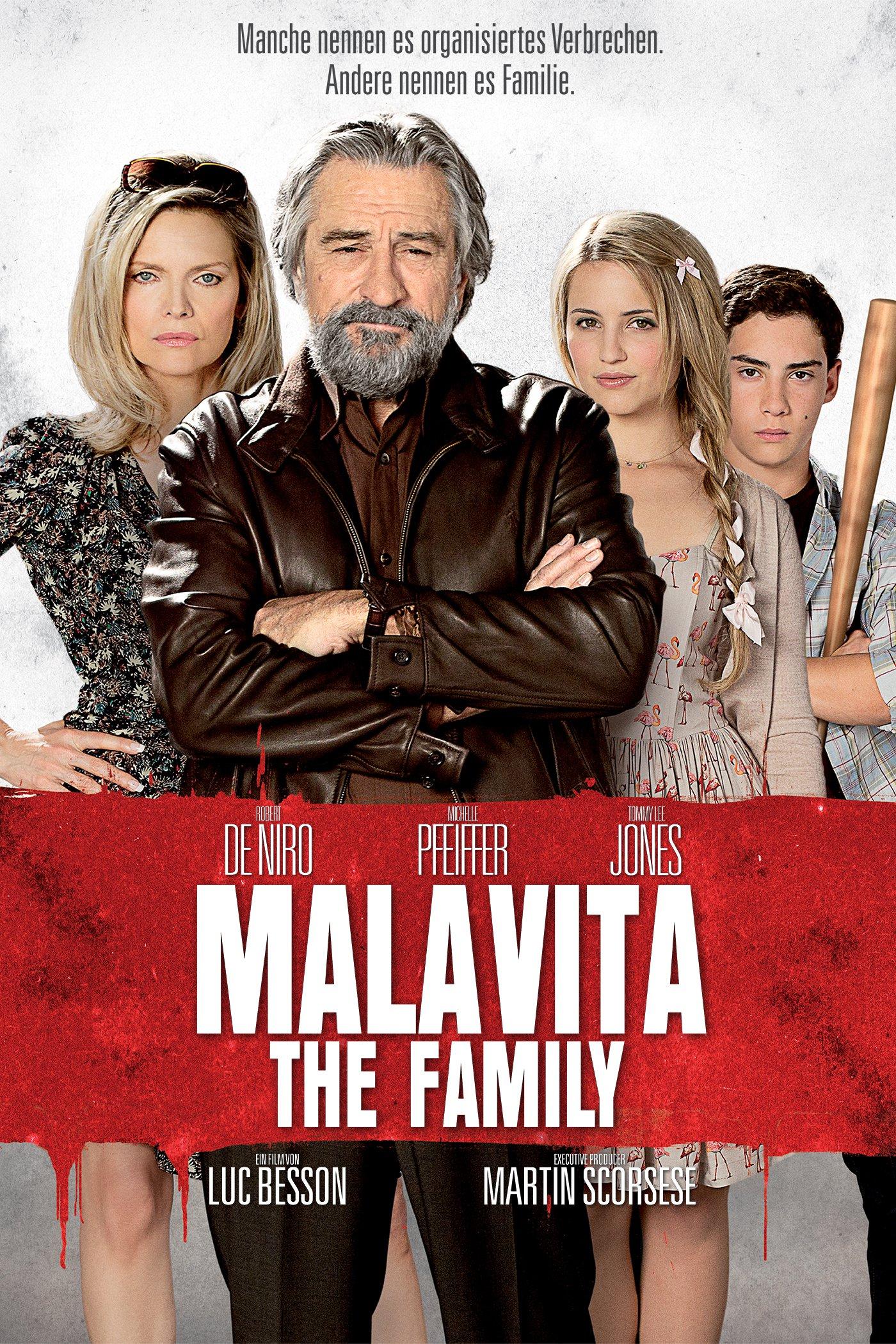 """Plakat von """"Malavita - The Family"""""""