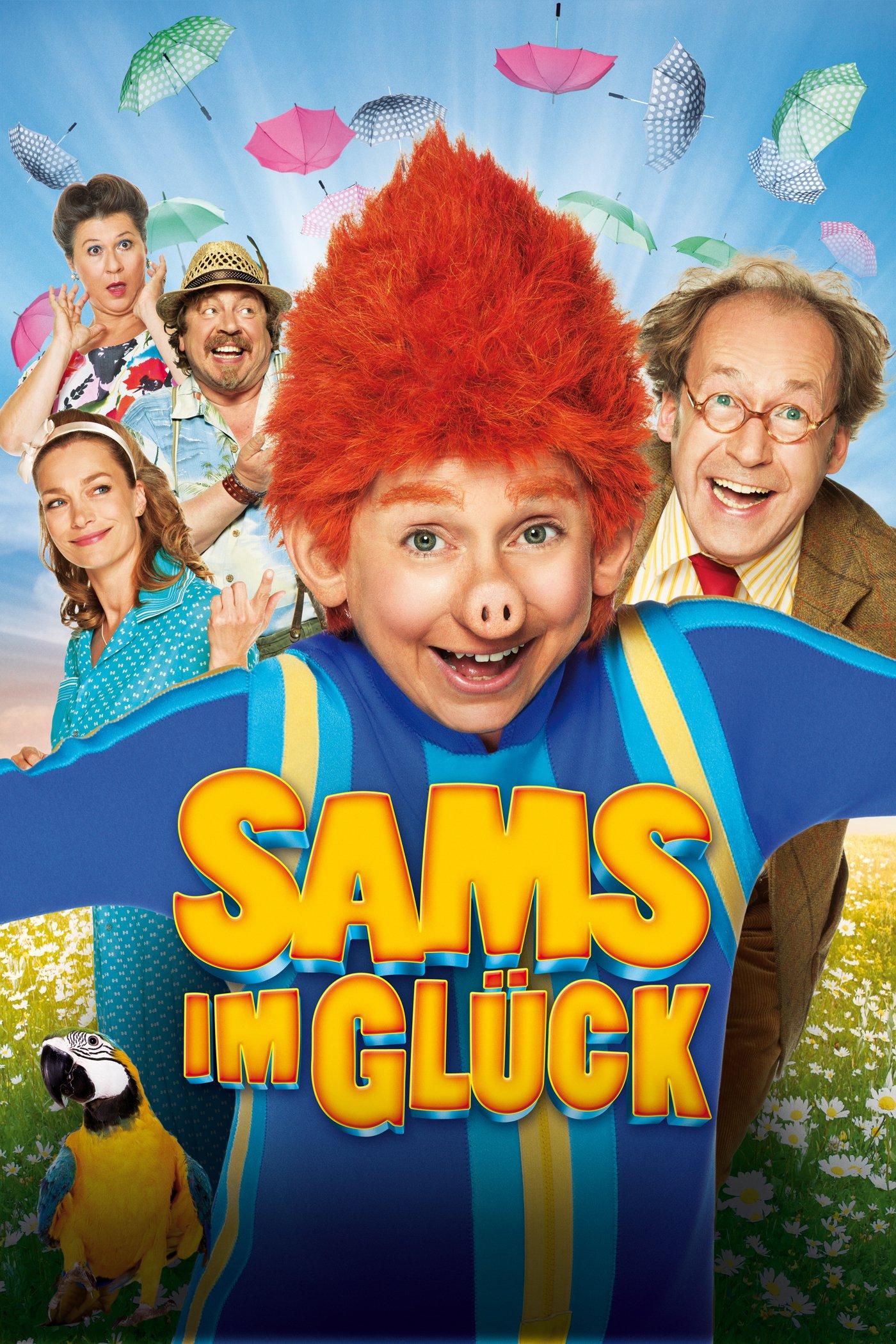 """Plakat von """"Sams im Glück"""""""