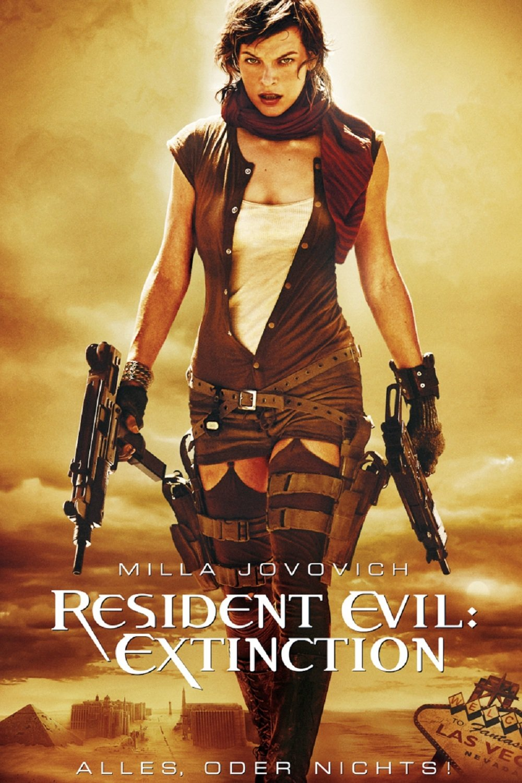 "Plakat von ""Resident Evil: Extinction"""