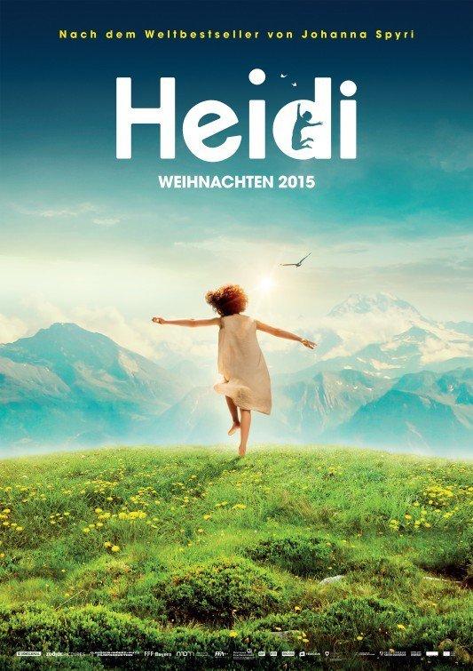 """Plakat von """"Heidi"""""""