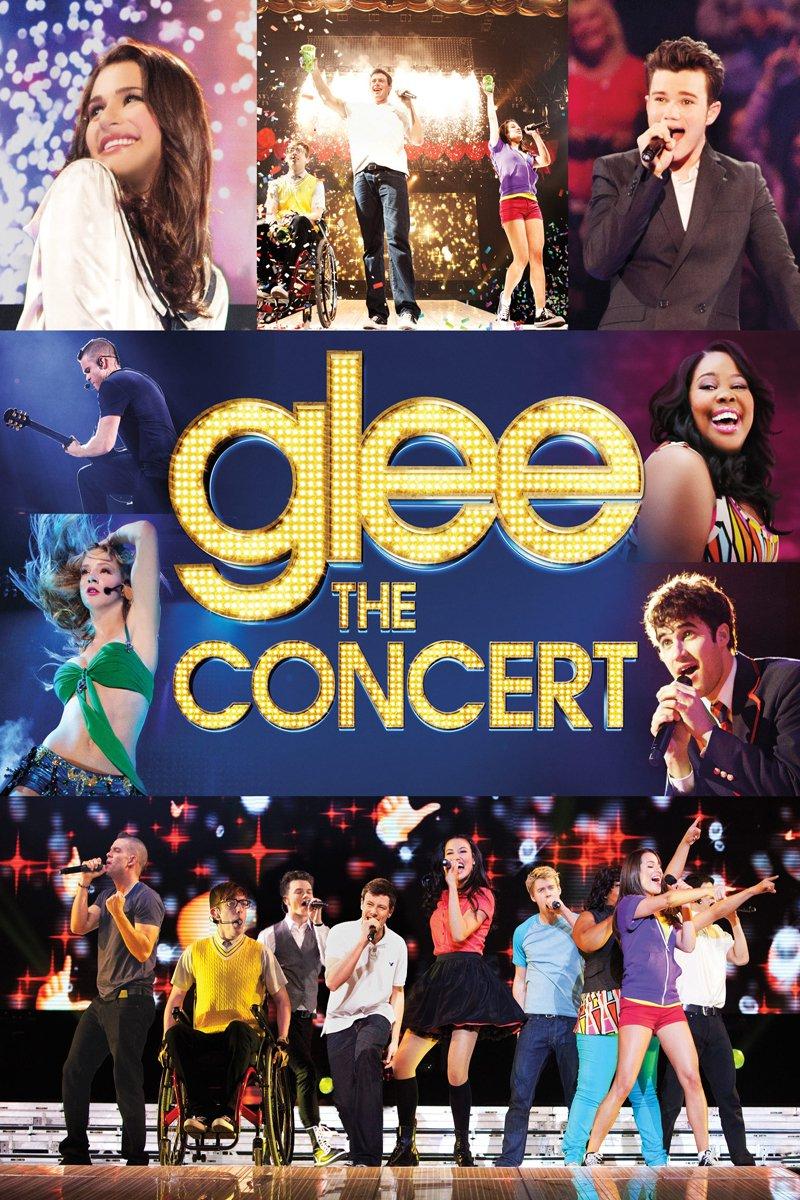 """Plakat von """"Glee on Tour - Der Film"""""""