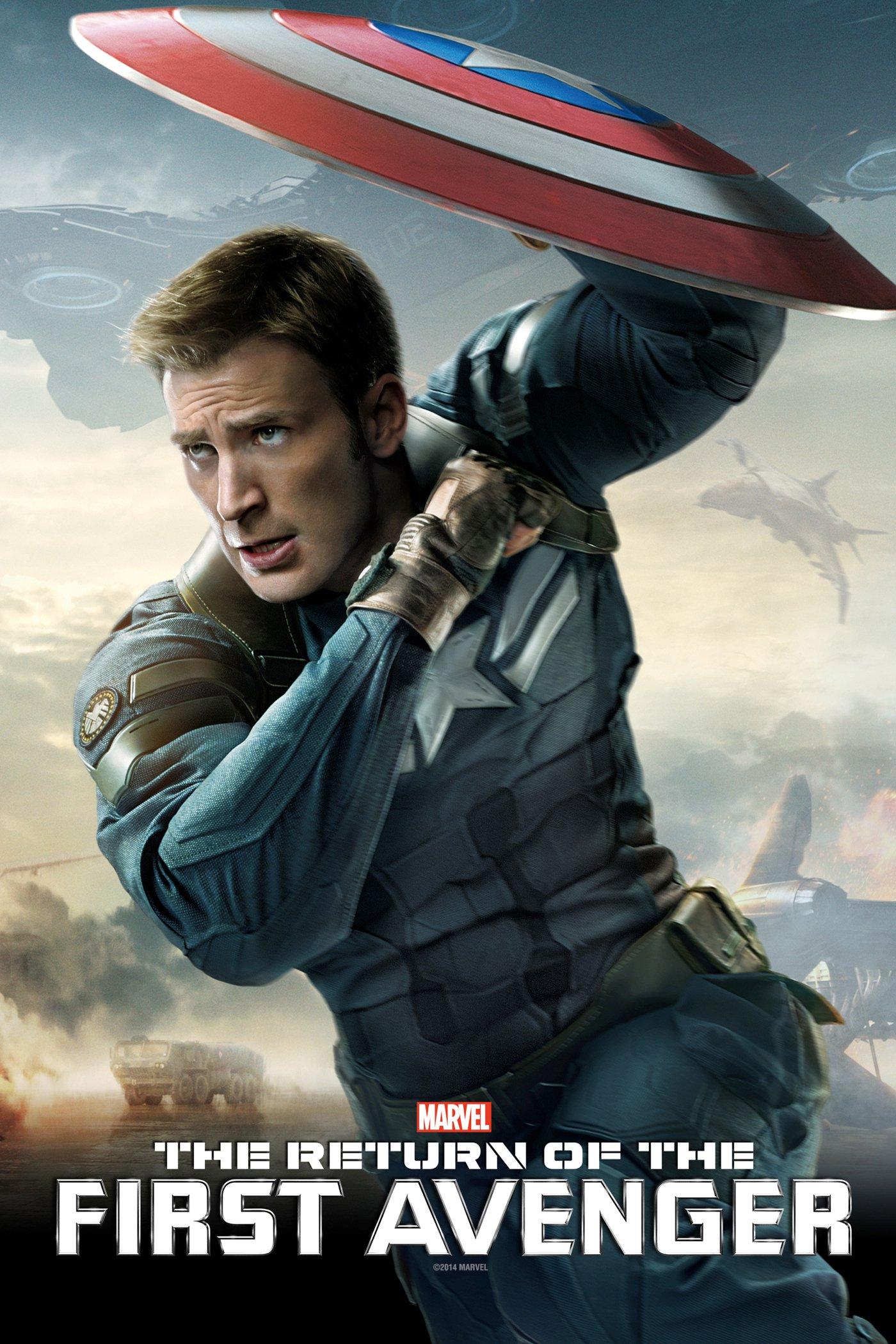"""Plakat von """"The Return of the First Avenger"""""""