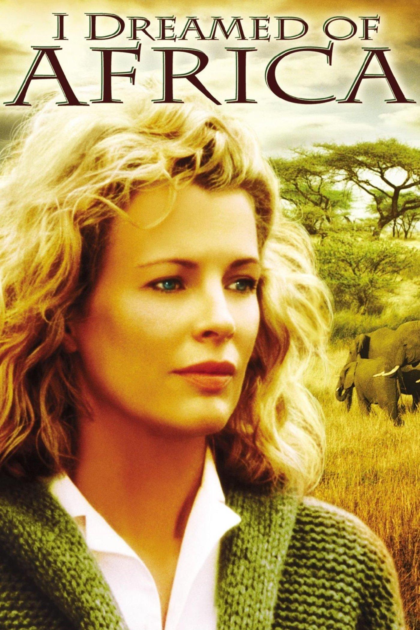 """Plakat von """"Ich träumte von Afrika"""""""