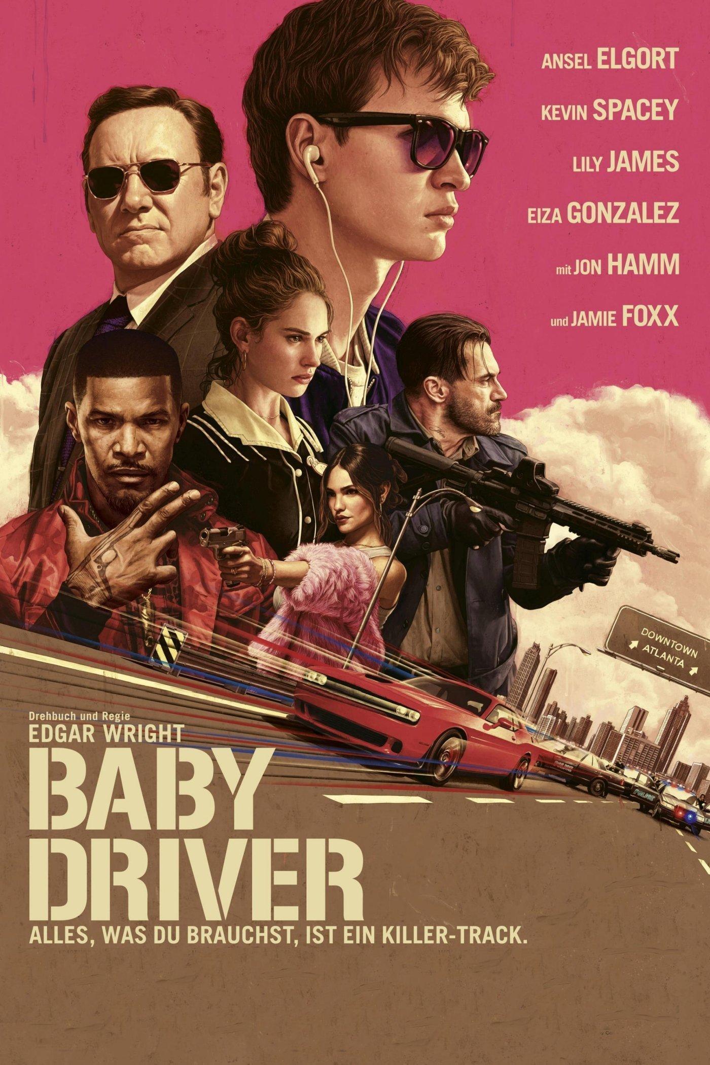 """Plakat von """"Baby Driver"""""""