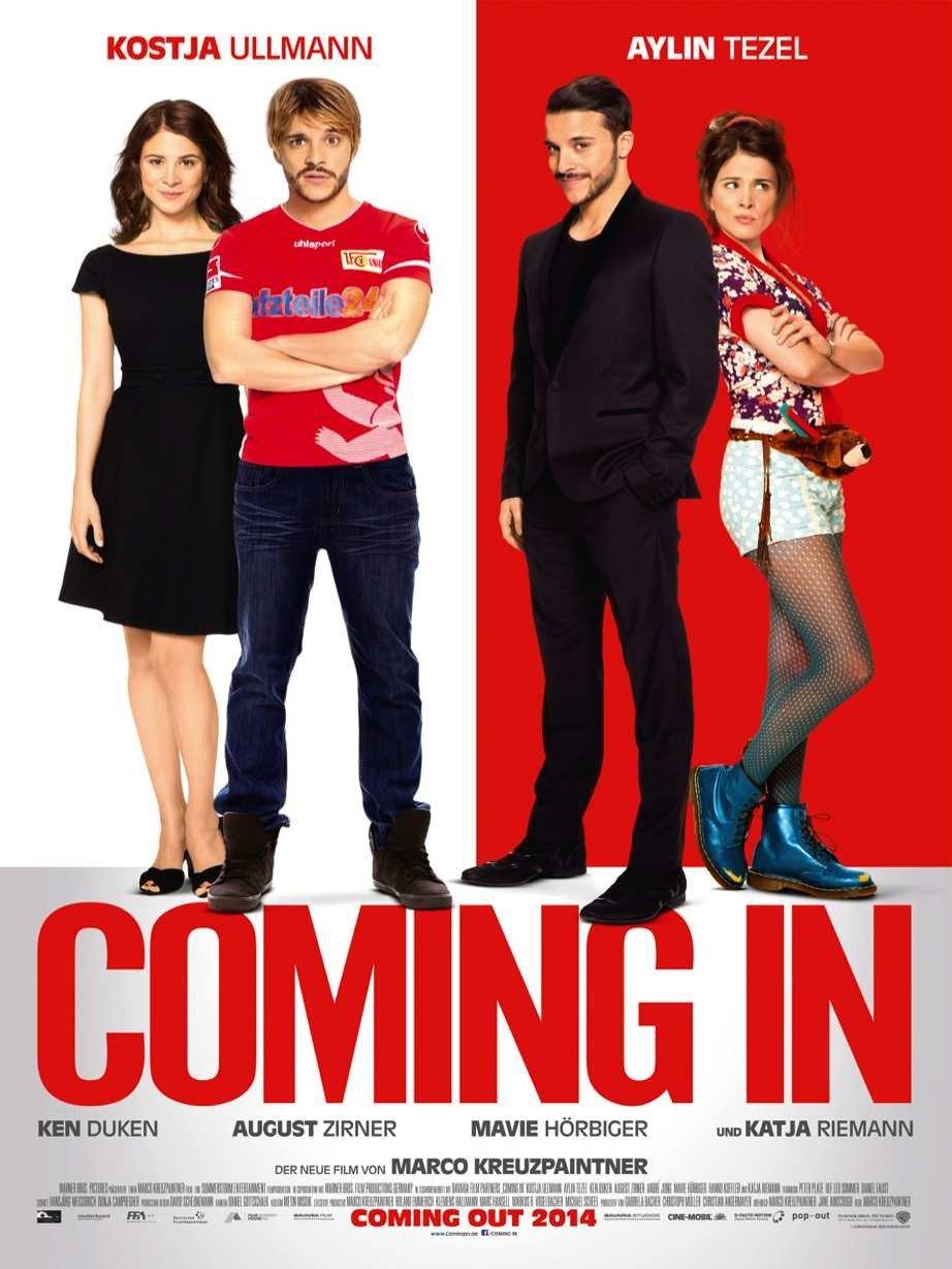 "Plakat von ""Coming In"""