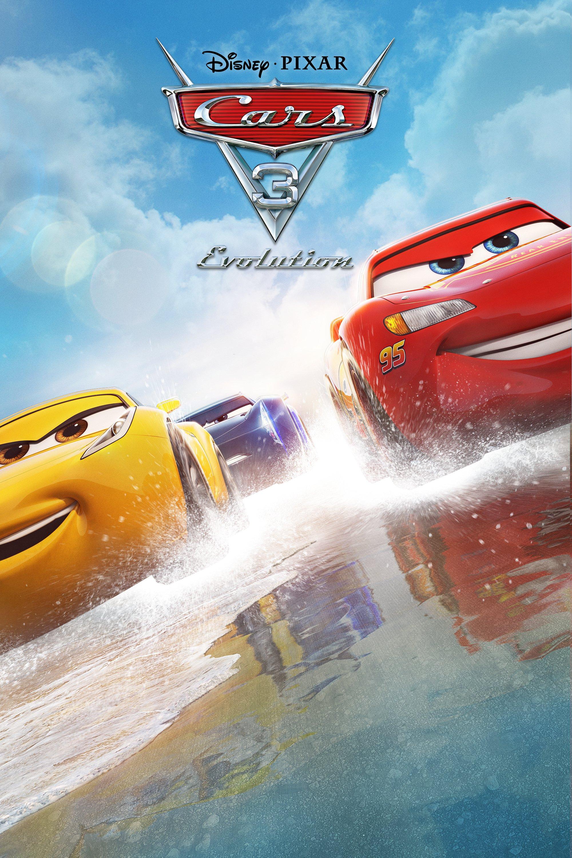"""Plakat von """"Cars 3: Evolution"""""""
