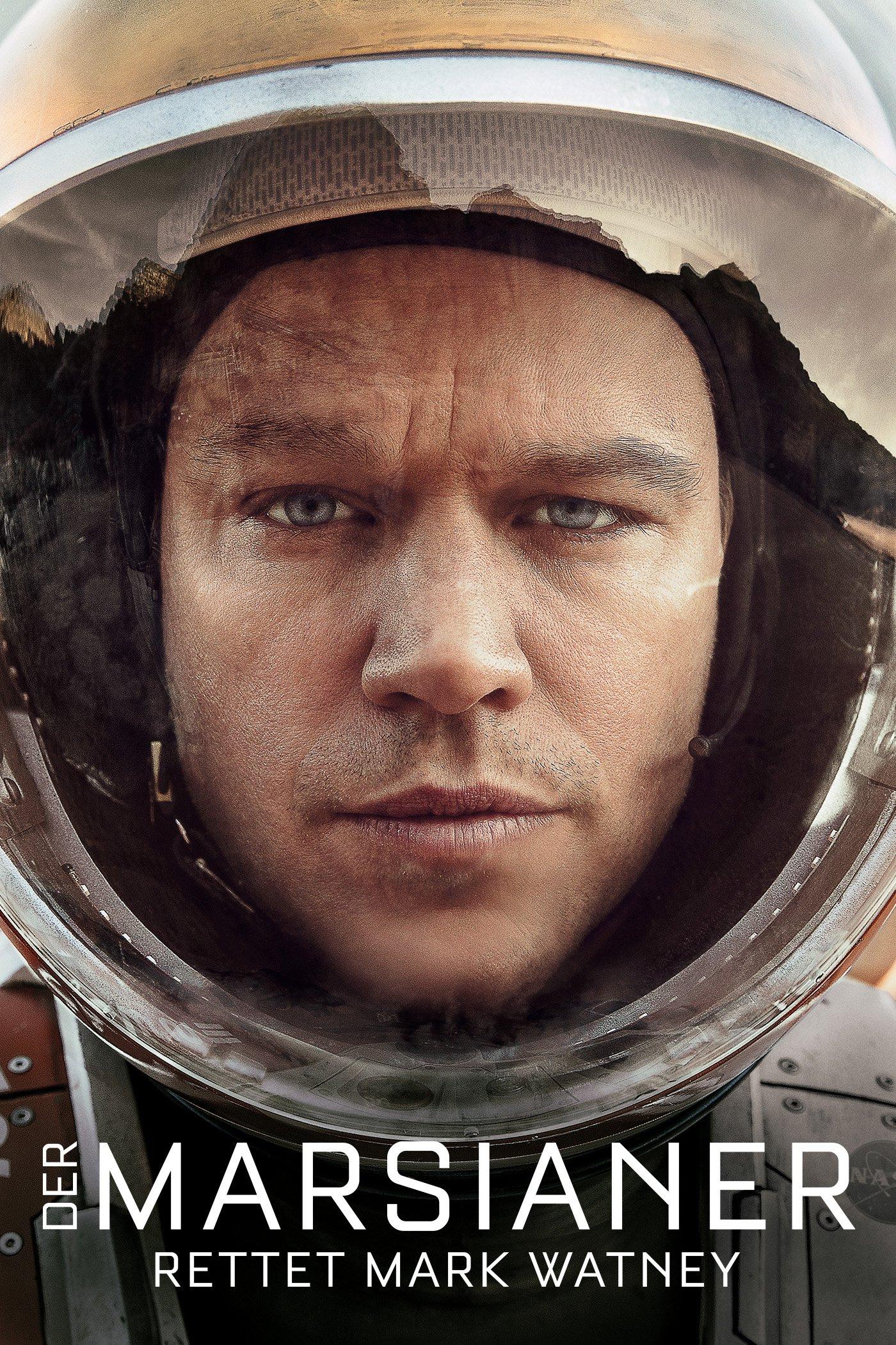 """Plakat von """"Der Marsianer - Rettet Mark Watney"""""""