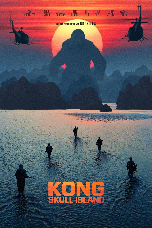"Plakat von ""Kong: Skull Island"""