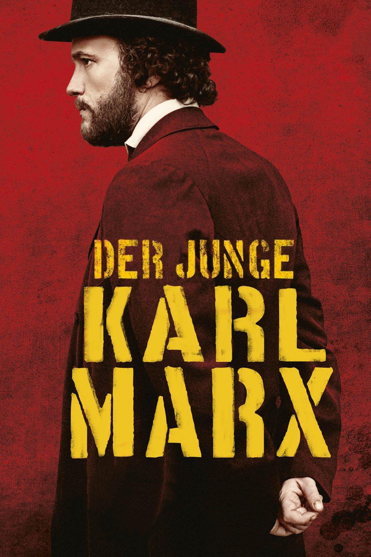"""Plakat von """"Der junge Karl Marx"""""""