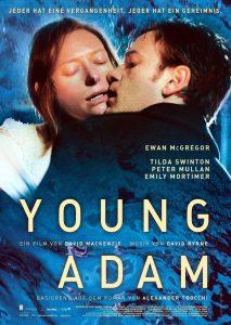 """Plakat von """"Young Adam - Dunkle Leidenschaft"""""""