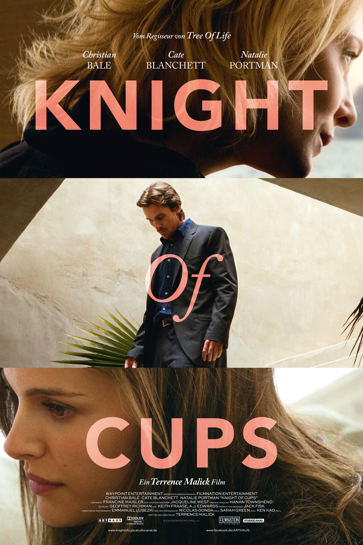"""Plakat von """"Knight of Cups"""""""