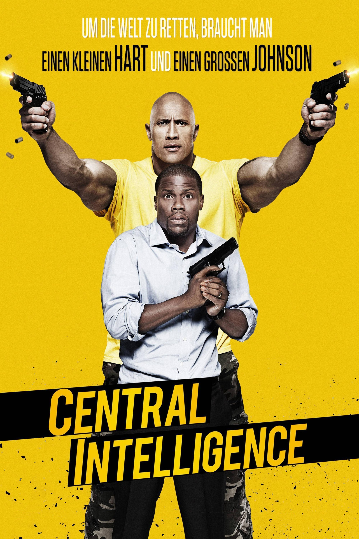 """Plakat von """"Central Intelligence"""""""