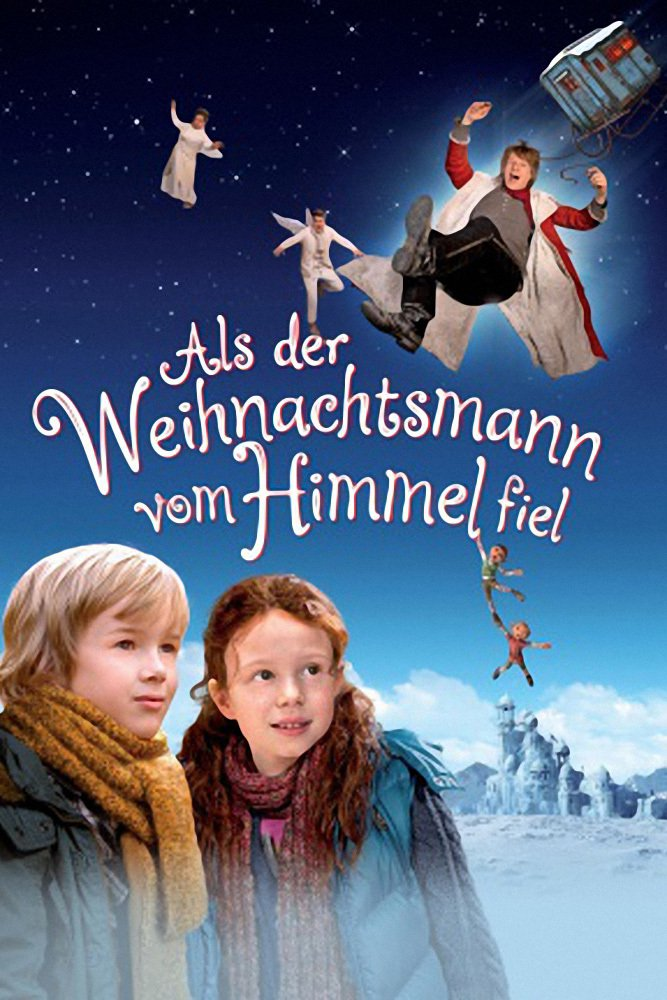 """Plakat von """"Als der Weihnachtsmann vom Himmel fiel"""""""