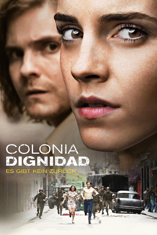 """Plakat von """"Colonia Dignidad - Es gibt kein zurück"""""""