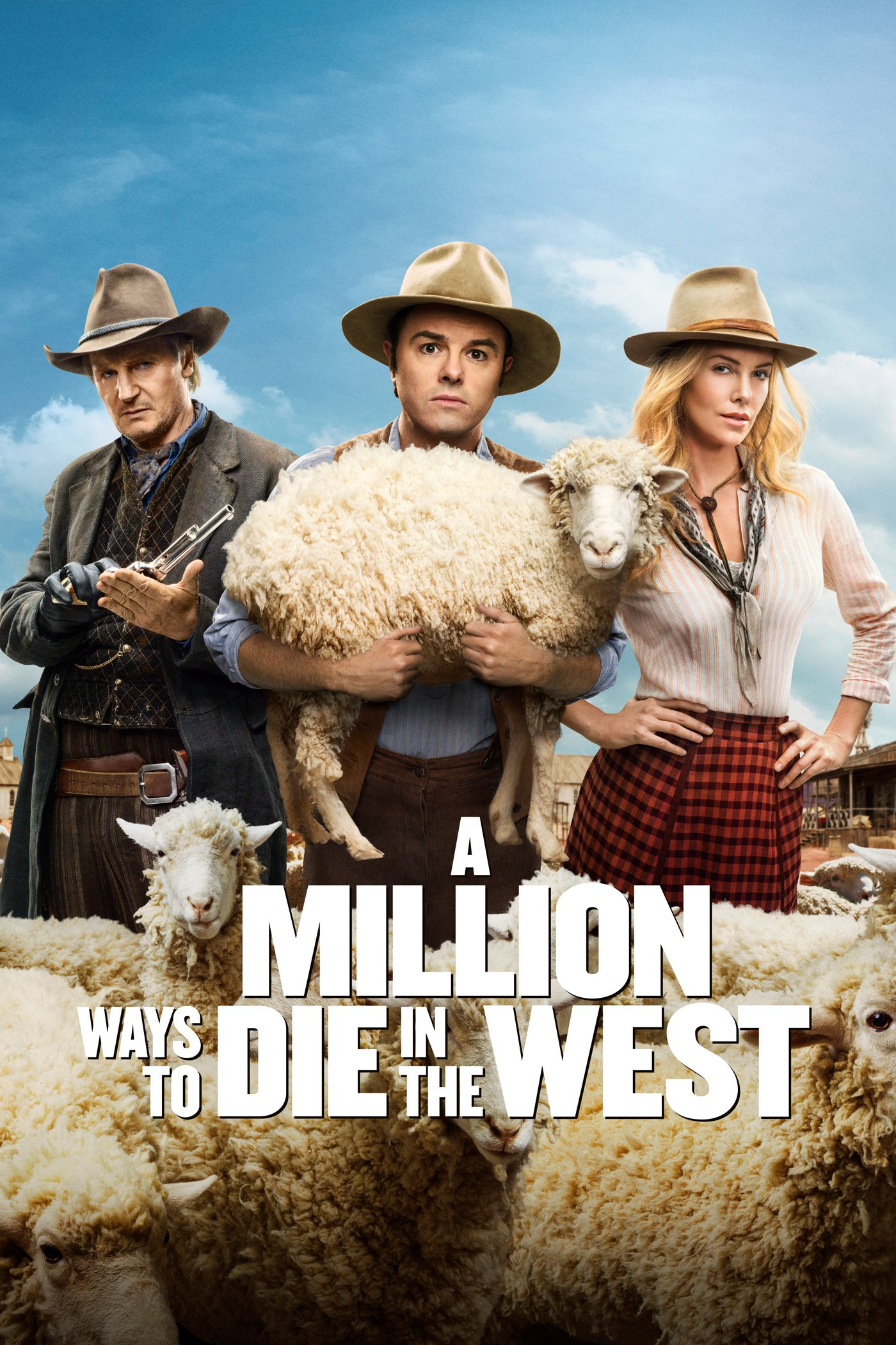"""Plakat von """"A Million Ways to Die in the West"""""""