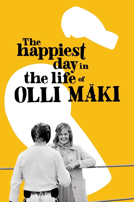 """Plakat von """"Der glücklichste Tag im Leben des Olli Mäki"""""""