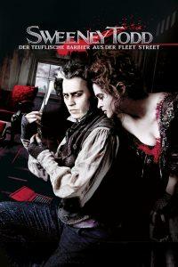 """Plakat von """"Sweeney Todd - Der teuflische Barbier aus der Fleet Street"""""""