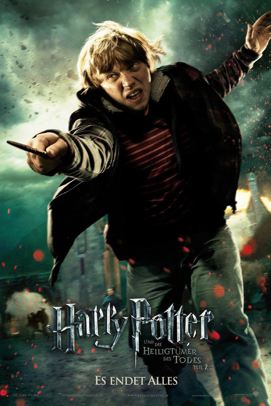 """Plakat von """"Harry Potter und die Heiligtümer des Todes - Teil 2"""""""