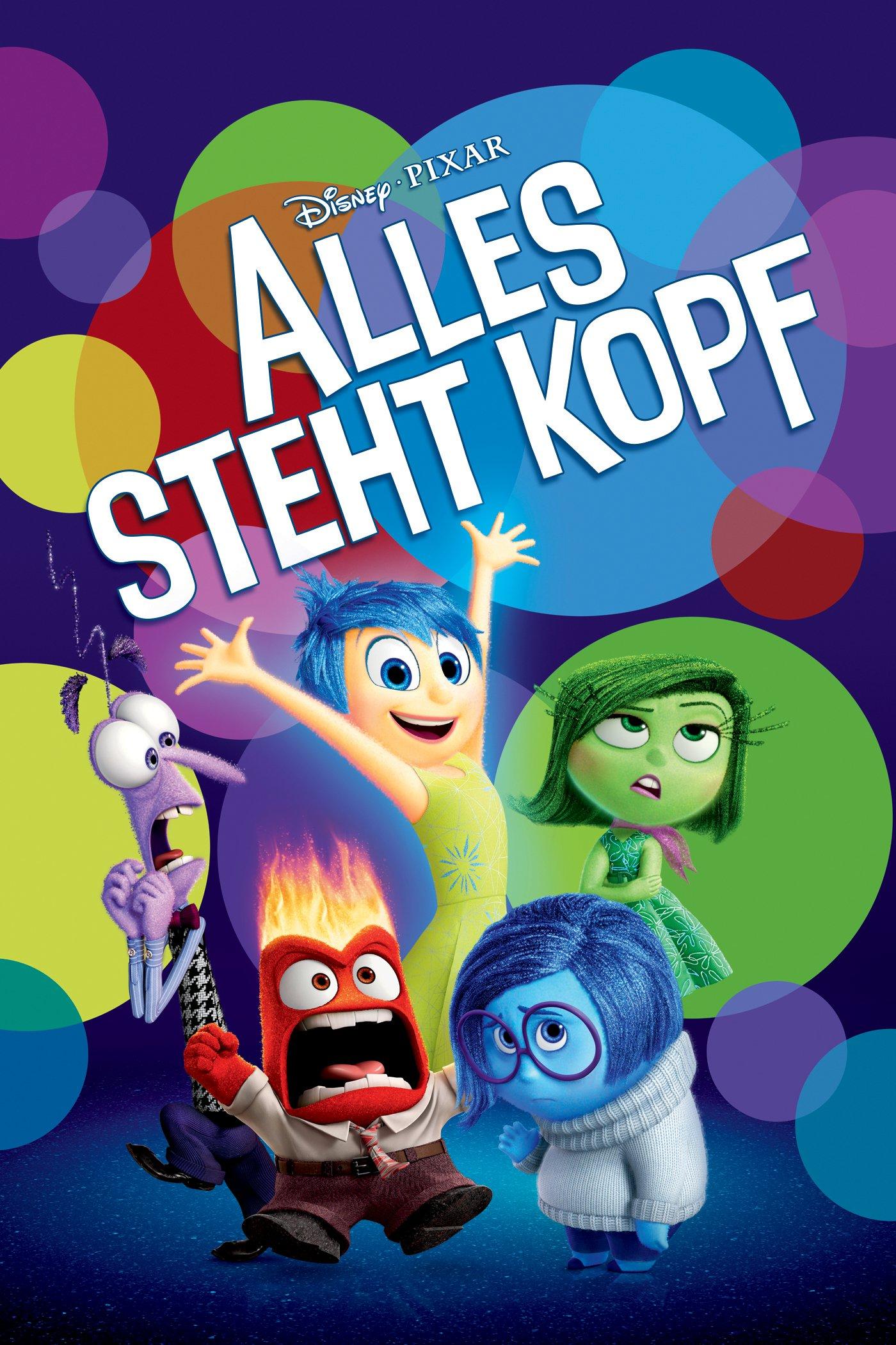 """Plakat von """"Alles steht Kopf"""""""