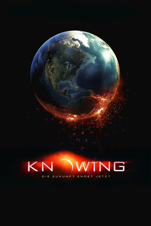 """Plakat von """"Knowing - Die Zukunft endet jetzt"""""""