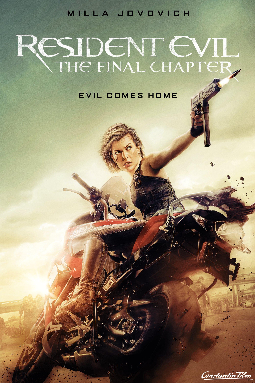 "Plakat von ""Resident Evil: The Final Chapter"""