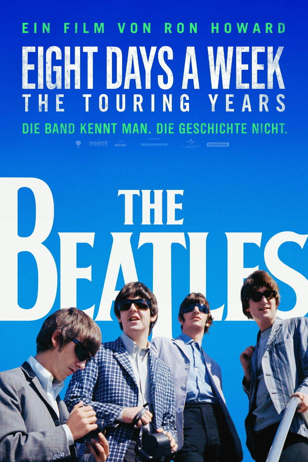 """Plakat von """"The Beatles: Eight Days a Week - The Touring Years"""""""