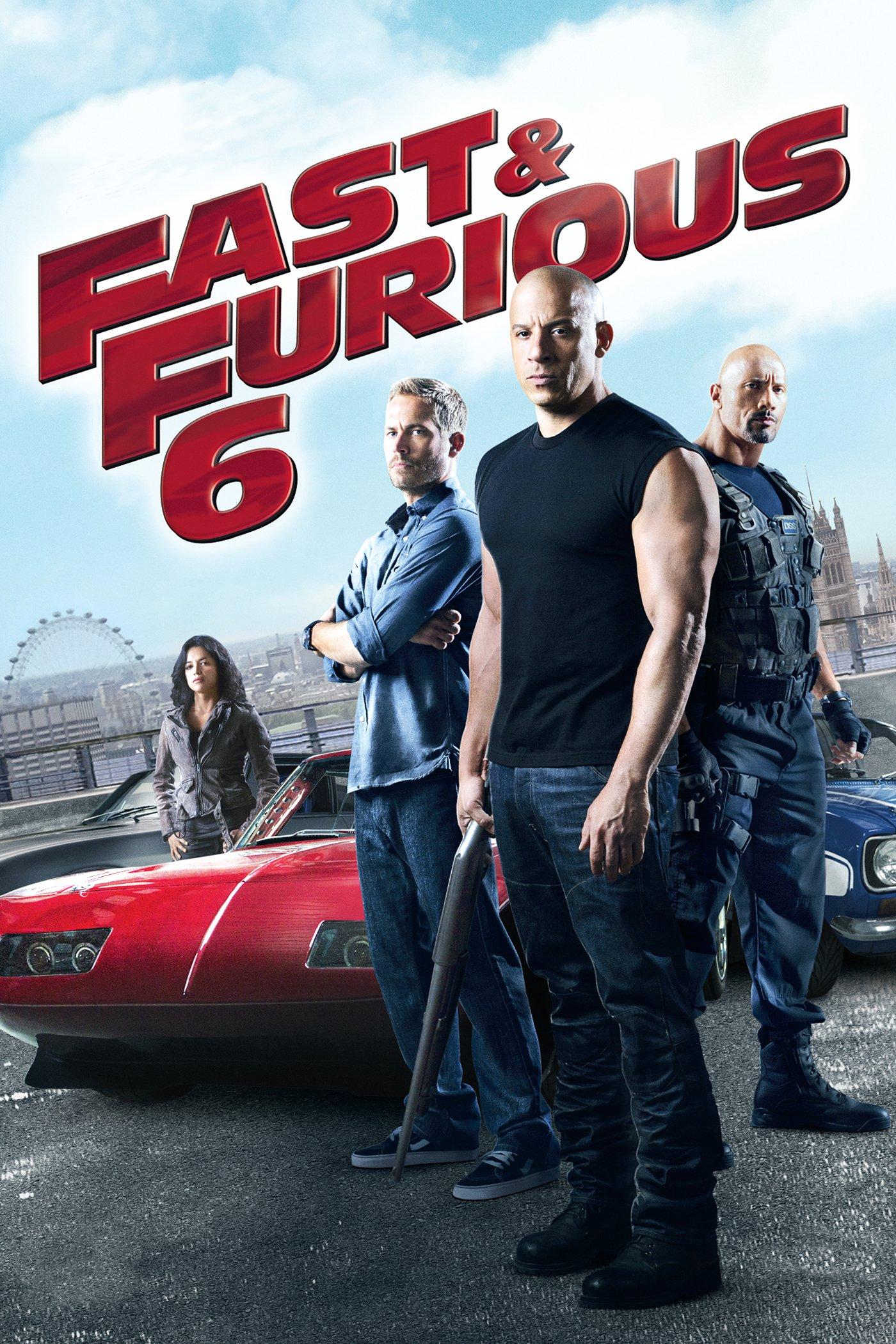 """Plakat von """"Fast & Furious 6"""""""