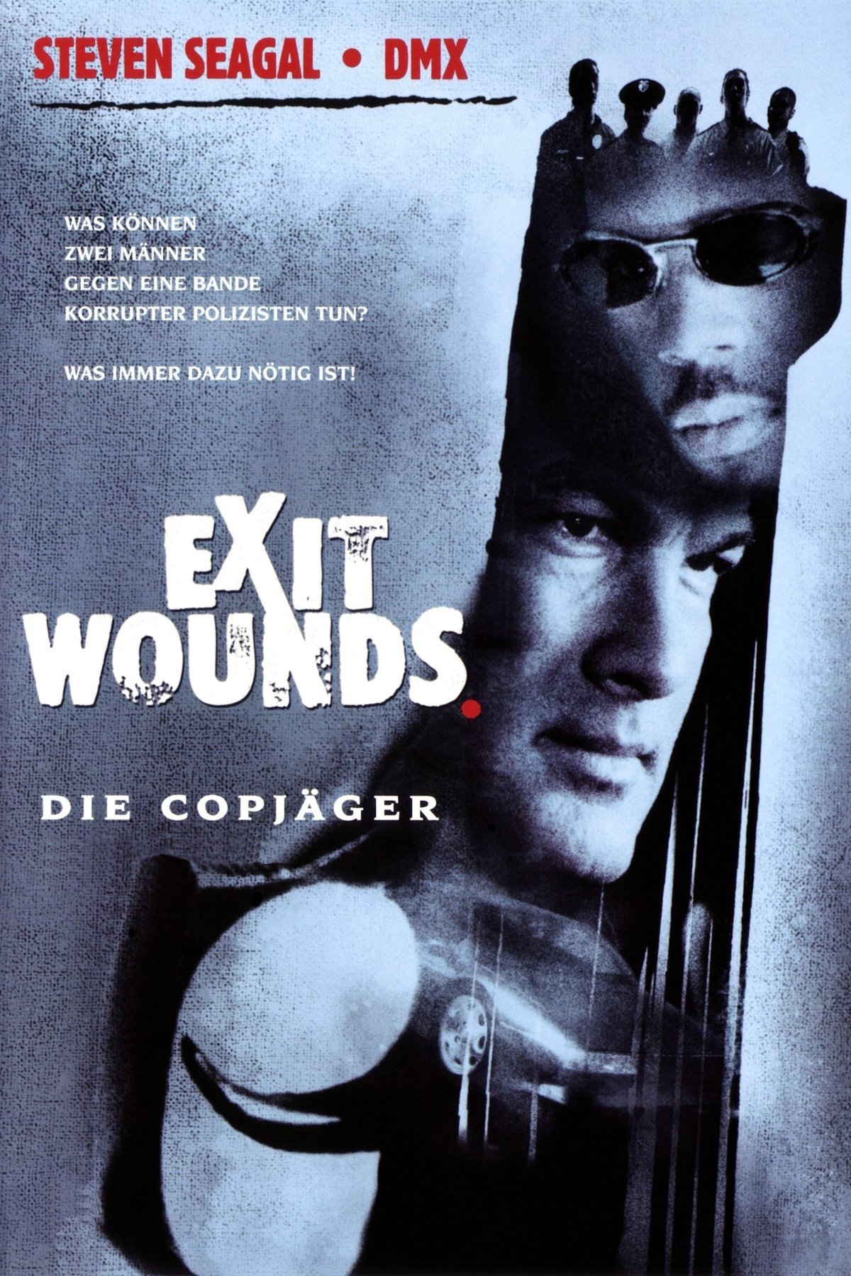 """Plakat von """"Exit Wounds - Die Copjäger"""""""