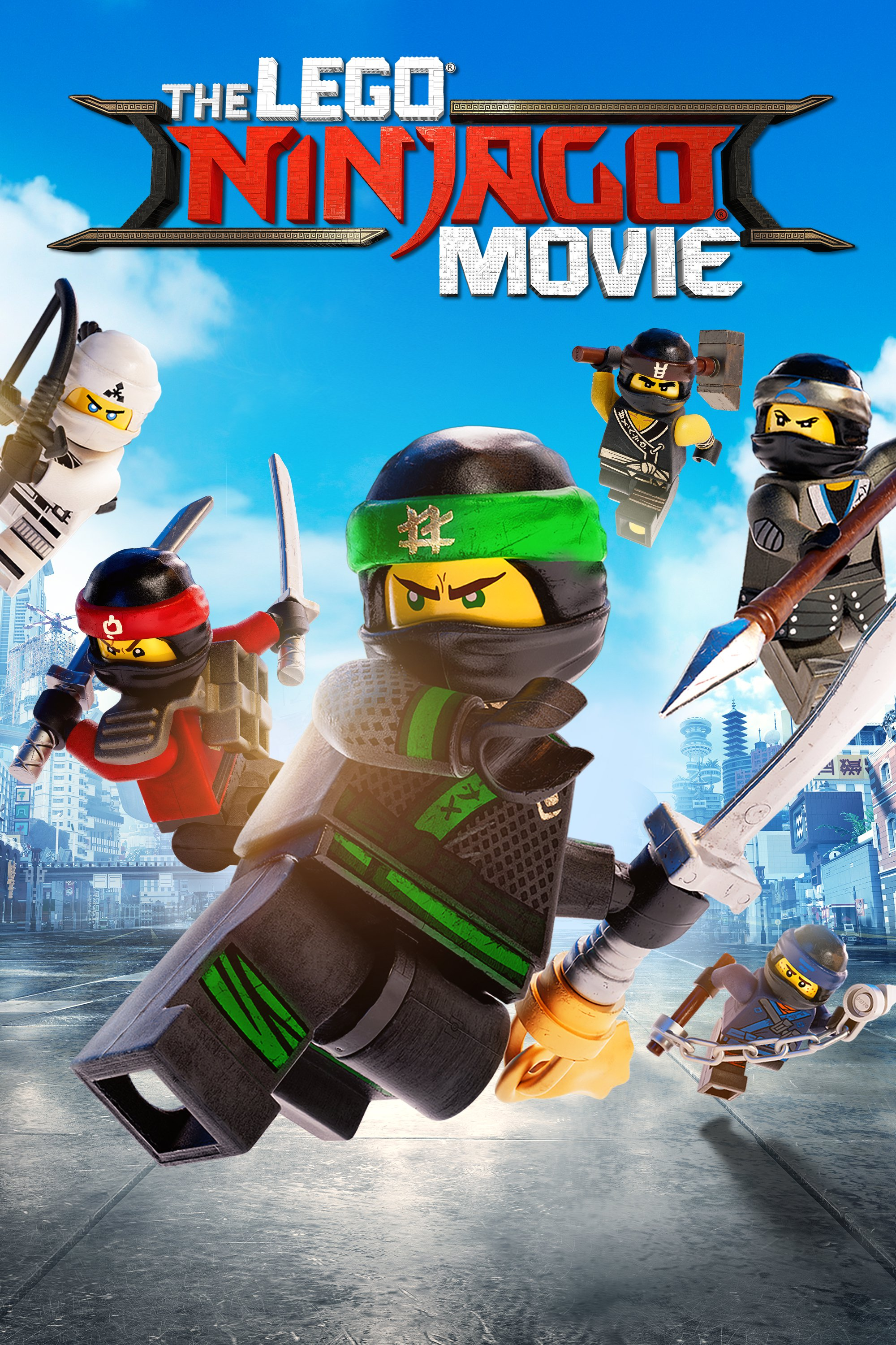 "Plakat von ""The LEGO Ninjago Movie"""