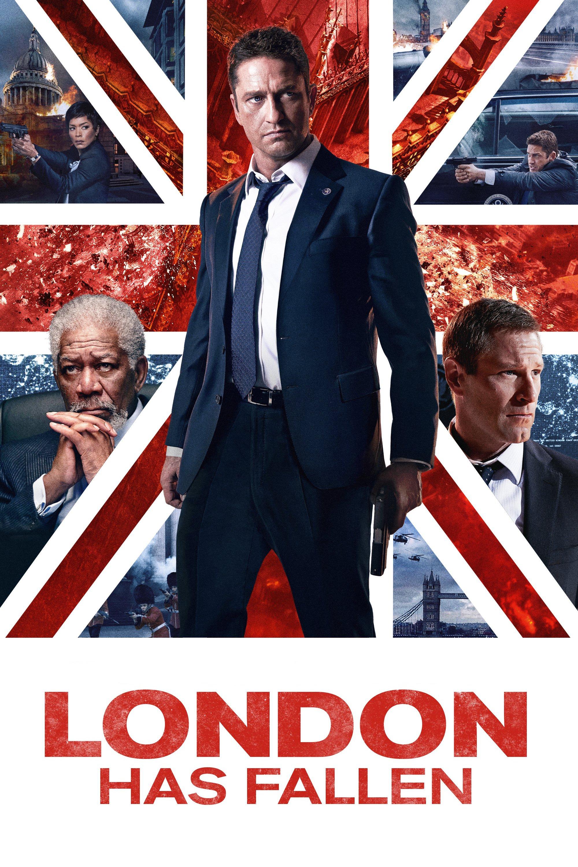 "Plakat von ""London Has Fallen"""