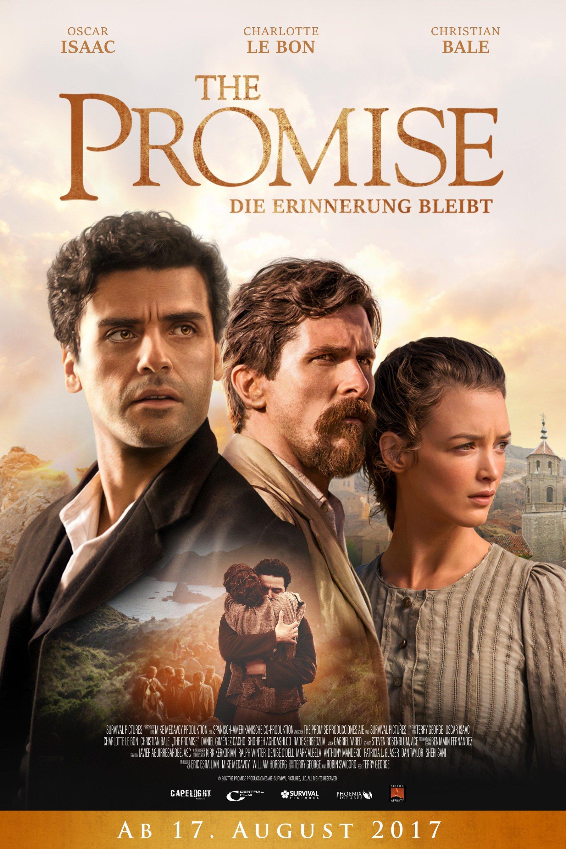 """Plakat von """"The Promise - Die Erinnerung bleibt"""""""