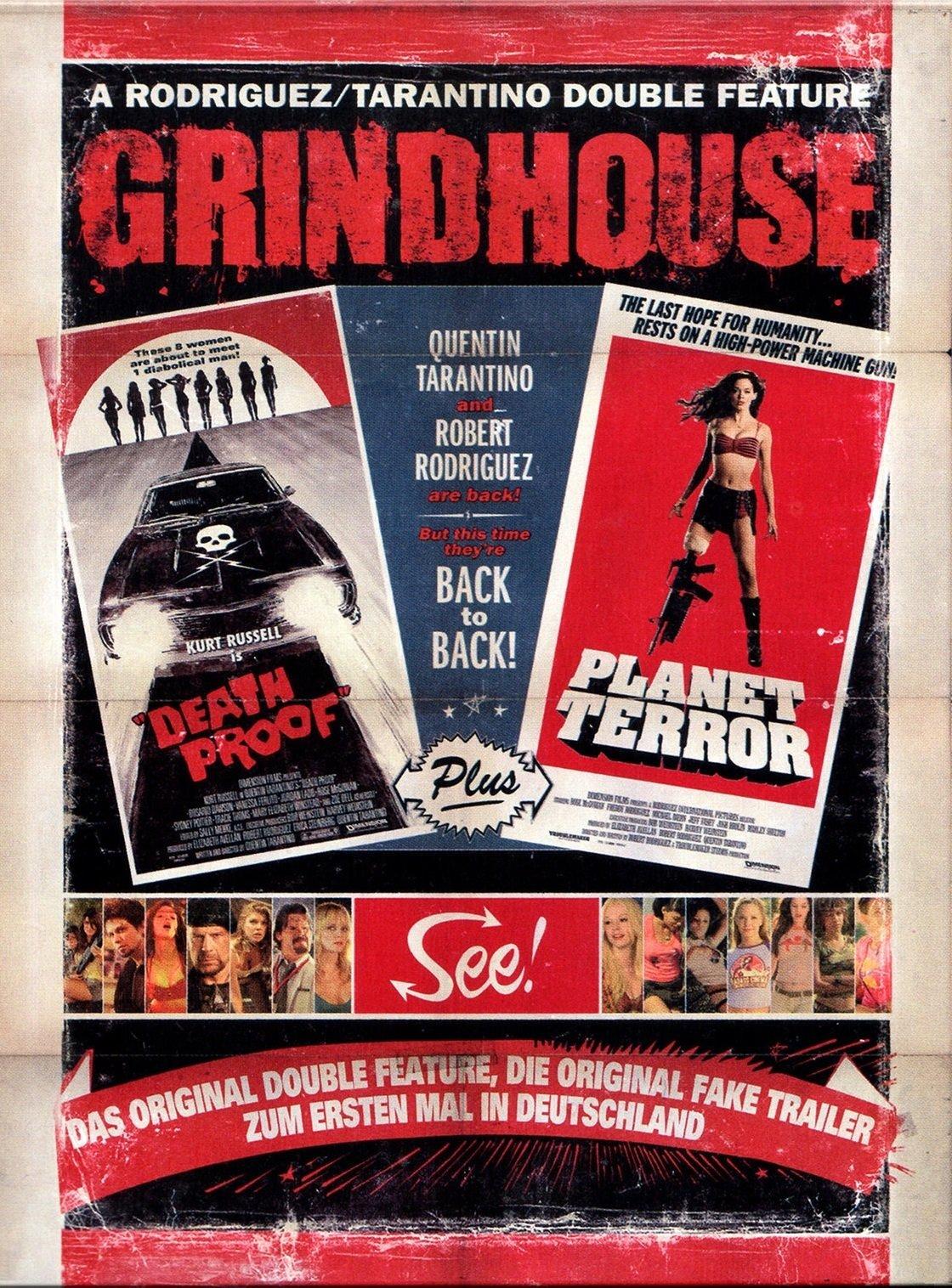 """Plakat von """"Grindhouse"""""""