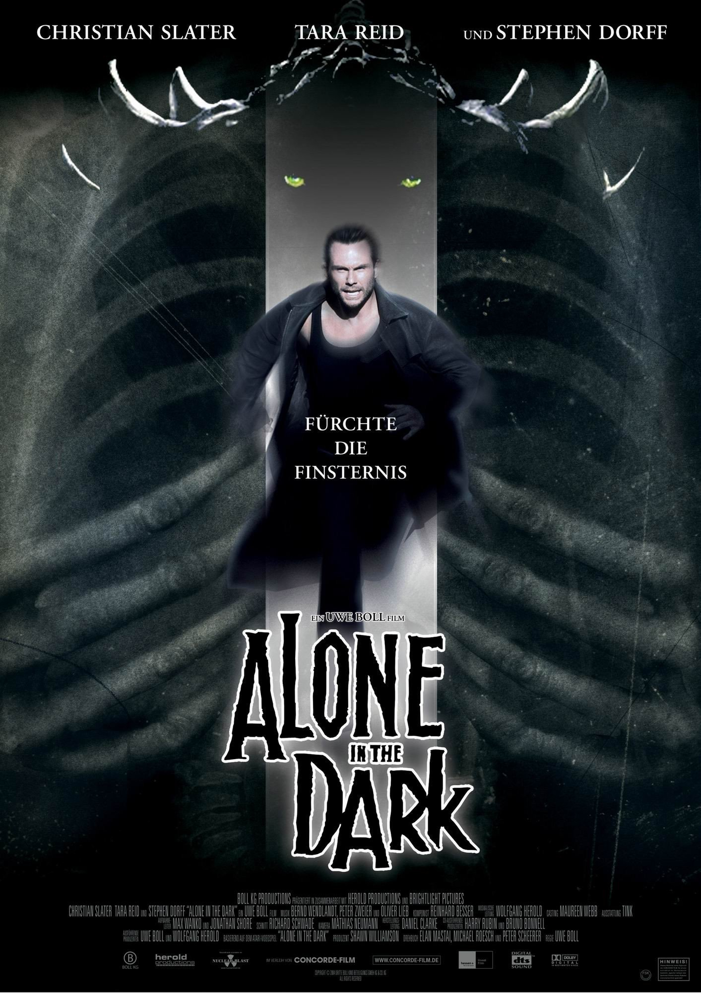 """Plakat von """"Alone in the Dark"""""""