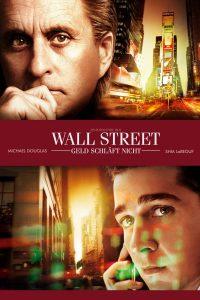 """Plakat von """"Wall Street - Geld schläft nicht"""""""
