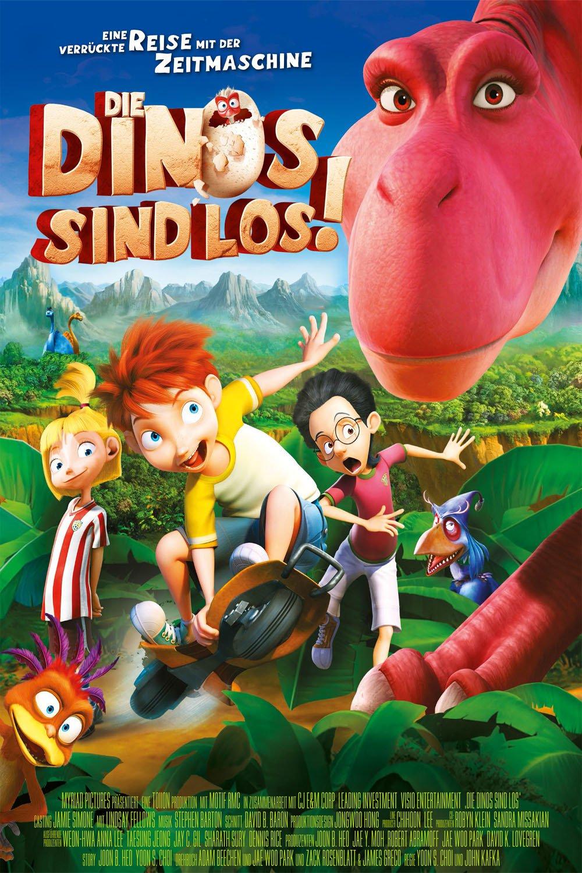 """Plakat von """"Die Dinos sind los"""""""